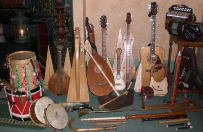 Selection of Musical Instruments